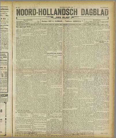 Ons Blad : katholiek nieuwsblad voor N-H 1921-04-20