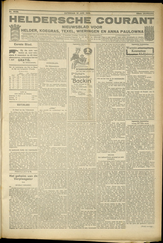 Heldersche Courant 1925-06-13