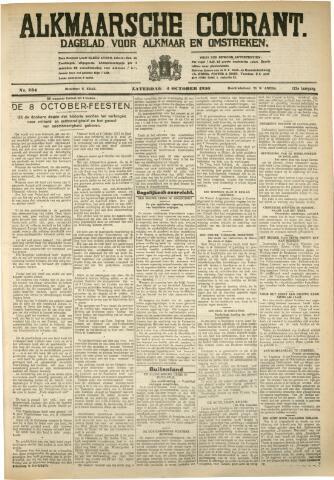 Alkmaarsche Courant 1930-10-04