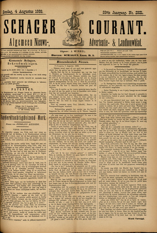 Schager Courant 1889-08-04