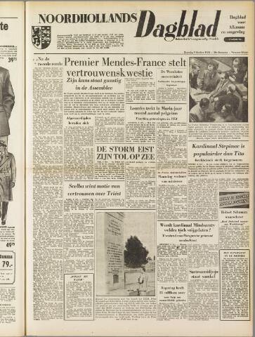 Noordhollands Dagblad : dagblad voor Alkmaar en omgeving 1954-10-09