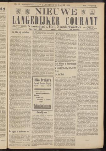 Nieuwe Langedijker Courant 1931-03-14