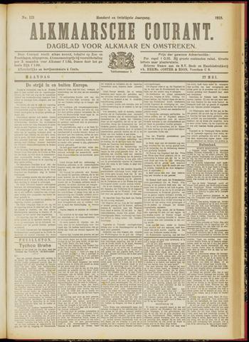 Alkmaarsche Courant 1918-05-27