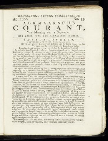 Alkmaarsche Courant 1800-09-01