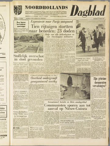 Noordhollands Dagblad : dagblad voor Alkmaar en omgeving 1961-06-19