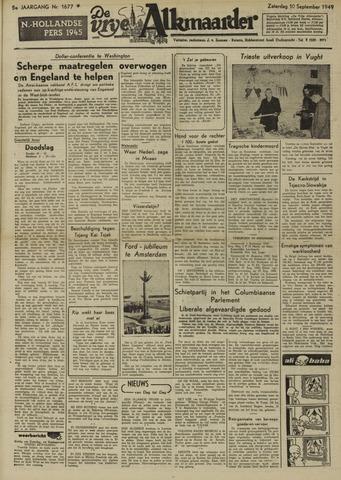 De Vrije Alkmaarder 1949-09-10