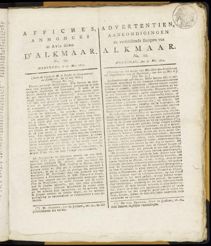 Alkmaarsche Courant 1812-05-27