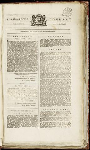 Alkmaarsche Courant 1818-01-19