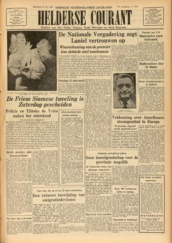 Heldersche Courant 1954-06-14