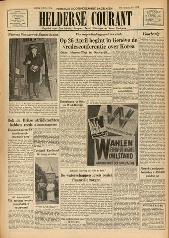 Heldersche Courant 1954-02-19