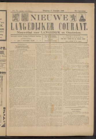 Nieuwe Langedijker Courant 1922-01-17
