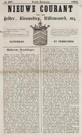 Nieuwe Courant van Den Helder 1864-02-27