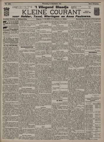 Vliegend blaadje : nieuws- en advertentiebode voor Den Helder 1910-09-21