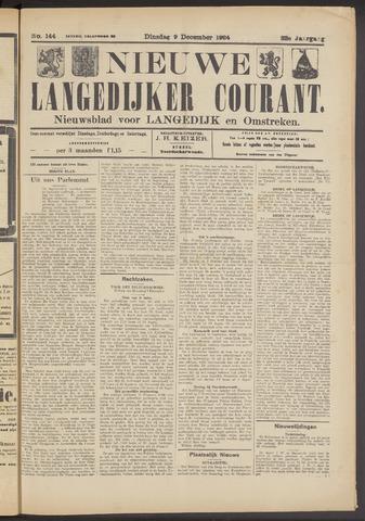 Nieuwe Langedijker Courant 1924-12-09