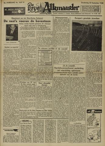 De Vrije Alkmaarder 1949-09-22