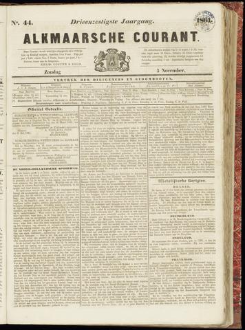 Alkmaarsche Courant 1861-11-03
