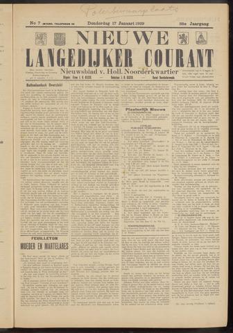 Nieuwe Langedijker Courant 1929-01-17