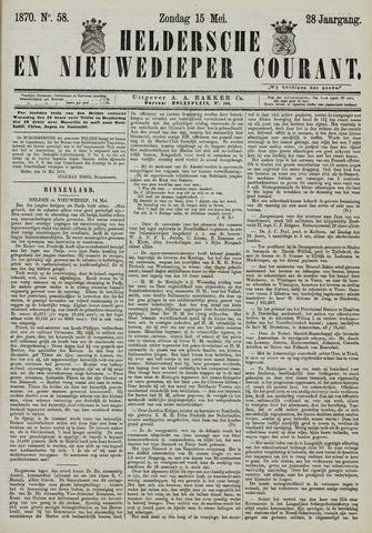 Heldersche en Nieuwedieper Courant 1870-05-15