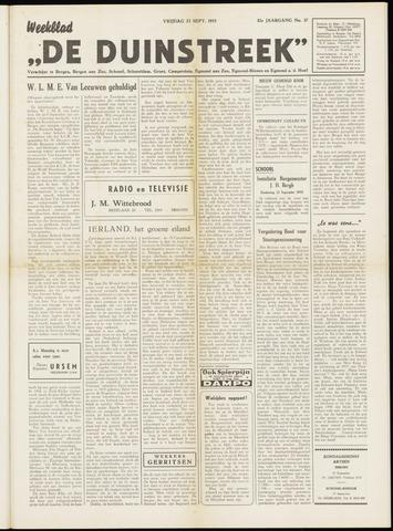 De Duinstreek 1955-09-23
