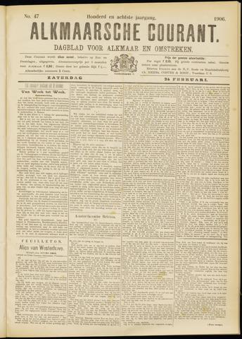 Alkmaarsche Courant 1906-02-24