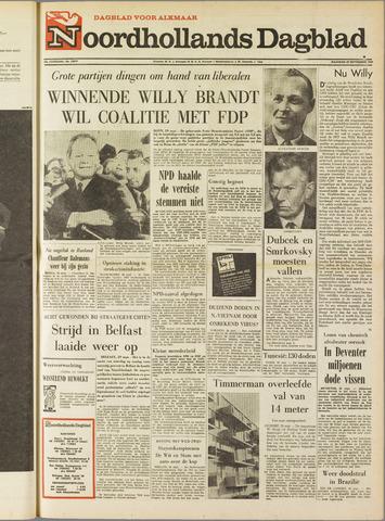 Noordhollands Dagblad : dagblad voor Alkmaar en omgeving 1969-09-29