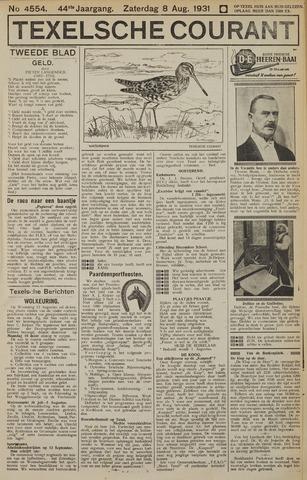 Texelsche Courant 1931-08-08