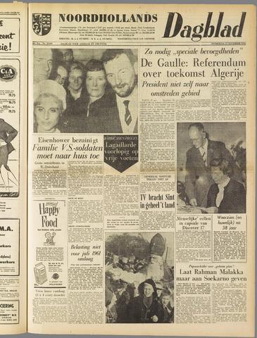 Noordhollands Dagblad : dagblad voor Alkmaar en omgeving 1960-11-17