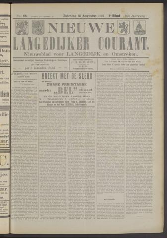 Nieuwe Langedijker Courant 1921-08-13