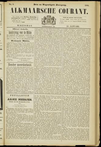Alkmaarsche Courant 1891-01-14