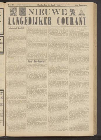 Nieuwe Langedijker Courant 1926-04-22
