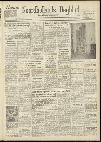 Nieuw Noordhollandsch Dagblad : voor Alkmaar en omgeving 1948-08-21