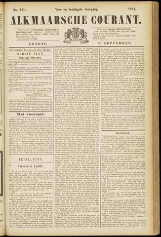 Alkmaarsche Courant 1882-09-17