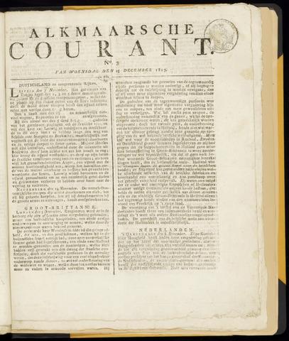 Alkmaarsche Courant 1813-12-15