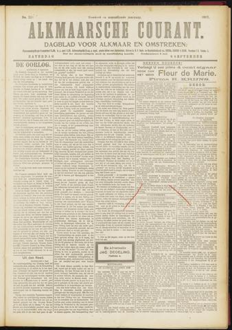 Alkmaarsche Courant 1917-09-08