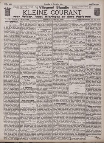 Vliegend blaadje : nieuws- en advertentiebode voor Den Helder 1913-11-12