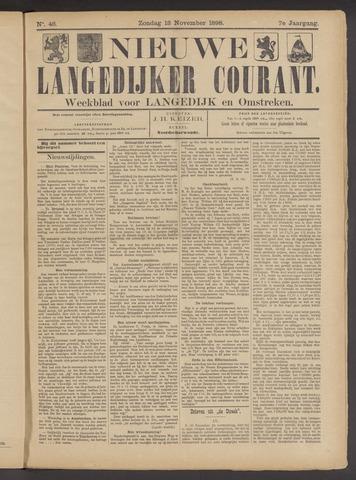 Nieuwe Langedijker Courant 1898-11-13