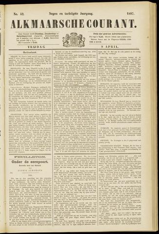 Alkmaarsche Courant 1887-04-08