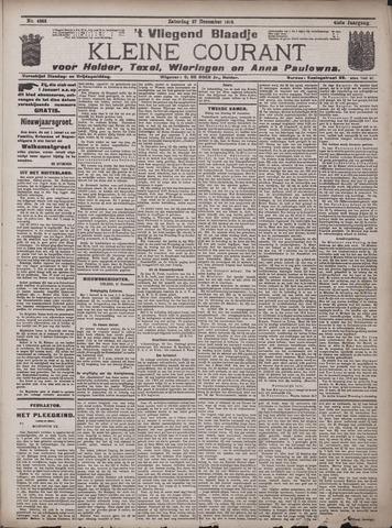 Vliegend blaadje : nieuws- en advertentiebode voor Den Helder 1913-12-27