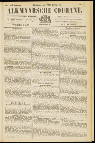 Alkmaarsche Courant 1903-08-26