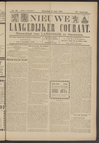 Nieuwe Langedijker Courant 1920-06-19