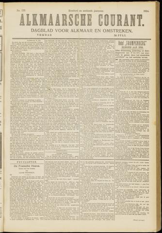 Alkmaarsche Courant 1914-07-24