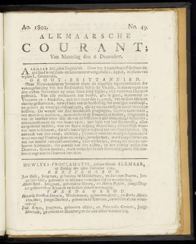 Alkmaarsche Courant 1802-12-06