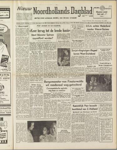Nieuw Noordhollandsch Dagblad : voor Alkmaar en omgeving 1950-11-17