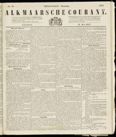 Alkmaarsche Courant 1873-03-23