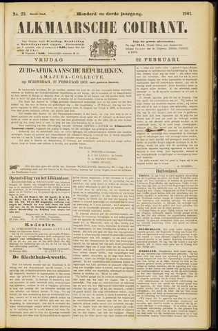 Alkmaarsche Courant 1901-02-22