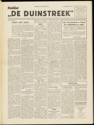 De Duinstreek 1954-01-15