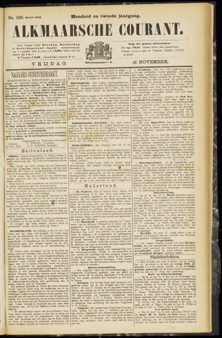 Alkmaarsche Courant 1900-11-16