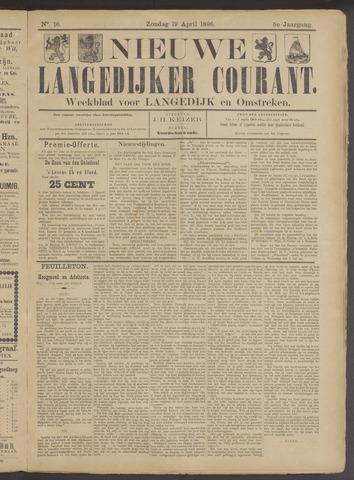 Nieuwe Langedijker Courant 1896-04-19