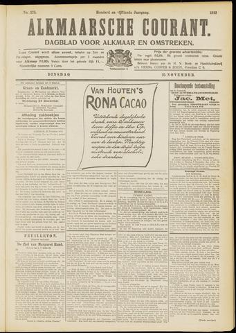 Alkmaarsche Courant 1913-11-25
