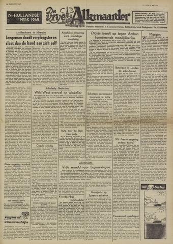 De Vrije Alkmaarder 1950-05-09